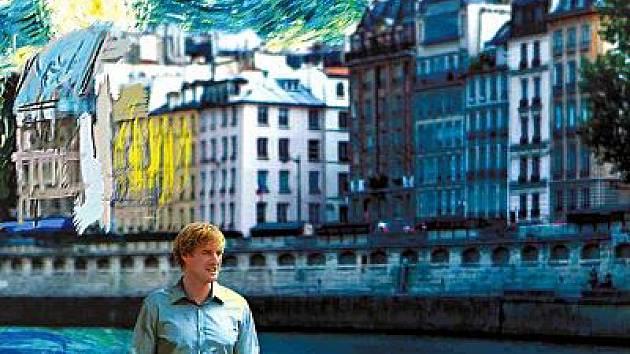 Výřez z filmového plakátu Půlnoc v Paříži.
