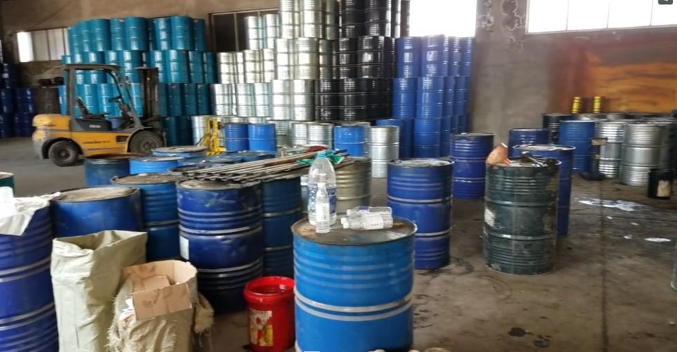 Výroba zakázaného freonu v Číně.