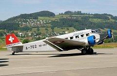 Letadlo Junkers Ju-52.