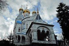 Pravoslavný kostel sv. Petra a Pavla v Karlových Varech