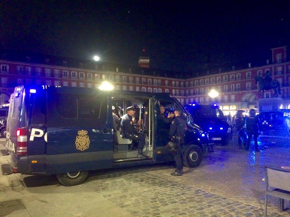 Bitka fanoušků Leicester City s policií