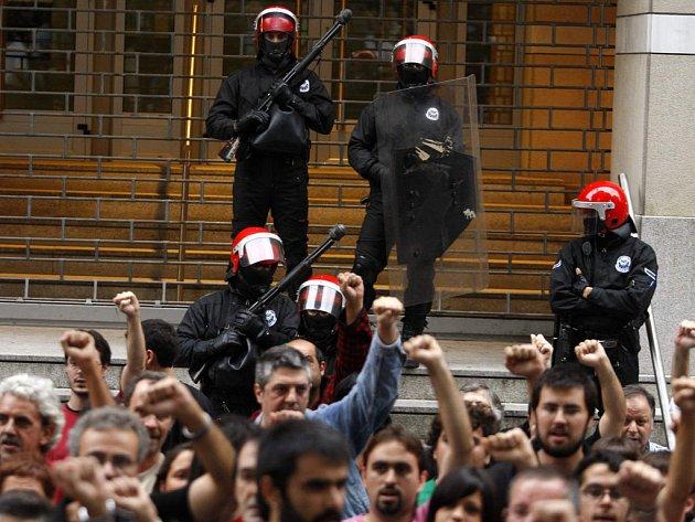 Španělská policie zatkla separatisty