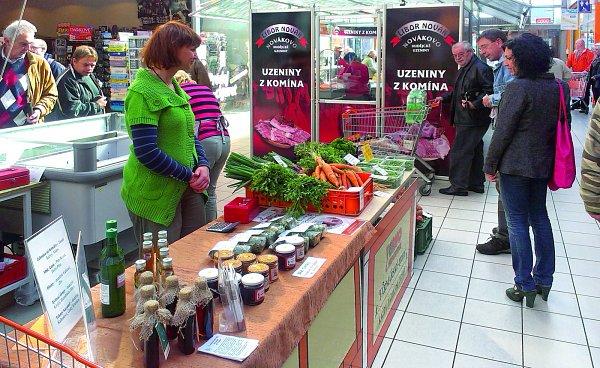 Novinky zregionu na farmářských trzích včeskobudějovickém Ternu