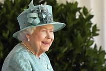 Britská královna Alžběta II. na své oficiální oslavě narozenin ve Windsoru.
