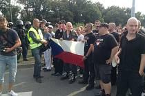 Protiromský pochod v Plzni.