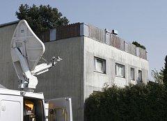 Dům v rakouském městě Amstetten, v němž otec zadržoval a zneužíval po více než dvacet let svou dceru.