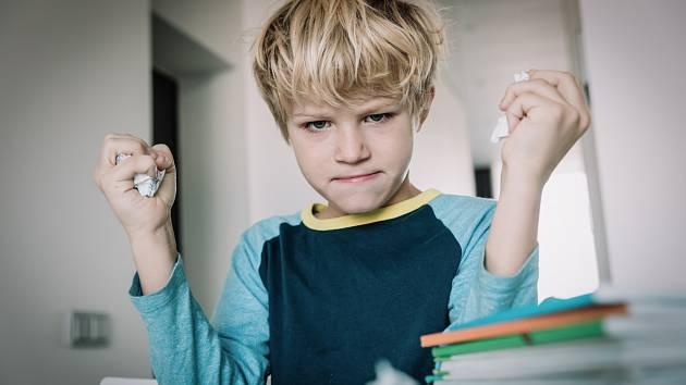 Děti umí být také agresivní.