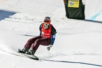 Olympijská vítězka ve snowboardcrossu Eva Samková