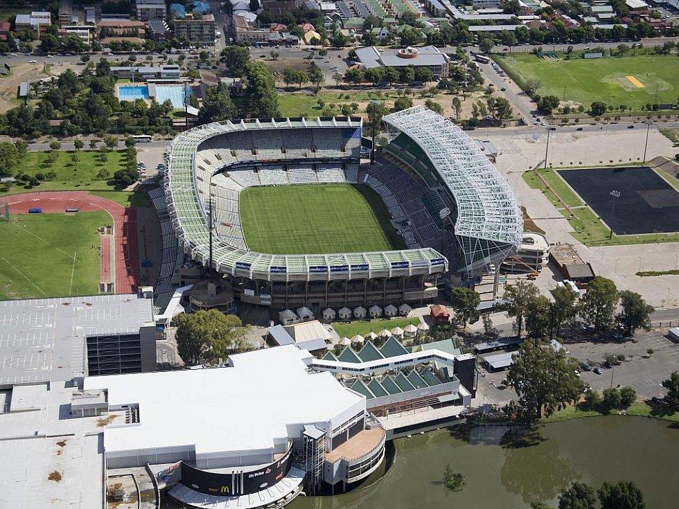 Free State Stadium - Mangaung. Kapacita: 45 058.