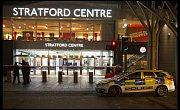 Incident před londýnským obchodním centrem