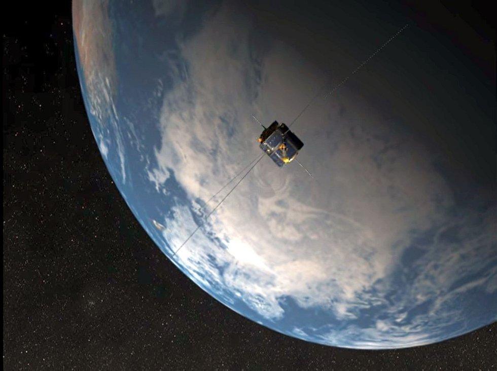 Zachytit a detekovat tyto signály umožnila vzácná trajektorie dráhy radioteleskopu