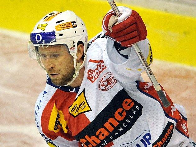 Největší ofenzivní zbraní Slavie je i v této sezoně Jaroslav Bednář.