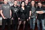 Setkání s kapelou Arakain a Lucií Bílou při příležitosti chystaného společného jarního turné.