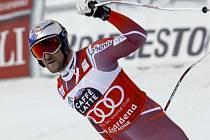 Aksel Lund Svindal a jeho radost z triumfu