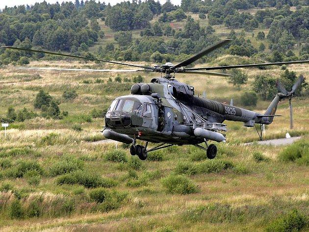 Vojenský prostor Libavá. Ilustrační foto