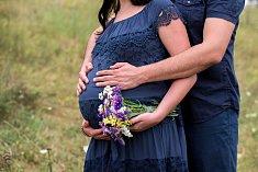 Těhotenství - Ilustrační foto