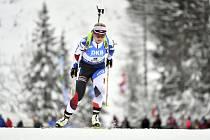 Biatlonistka Lucie Charvátová