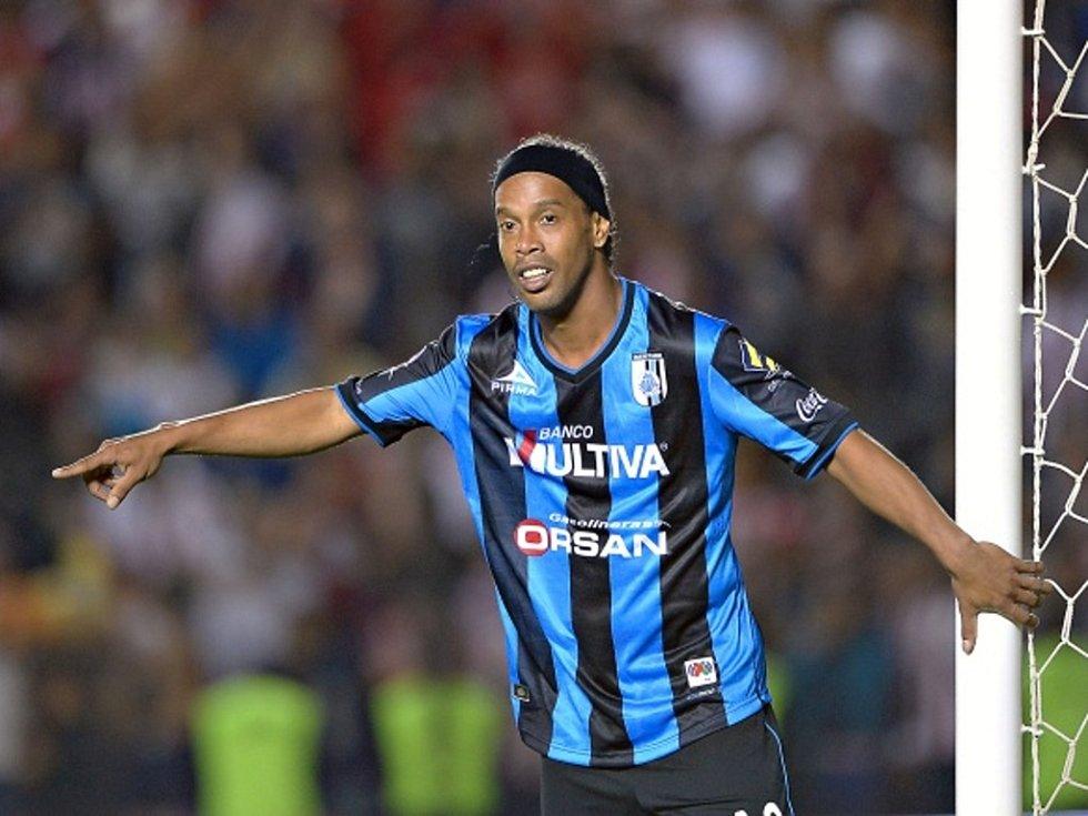 Bývalý nejlepší fotbalista světa Ronaldinho.