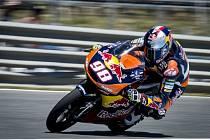 Karel Hanika v tréninku na GP Francie.