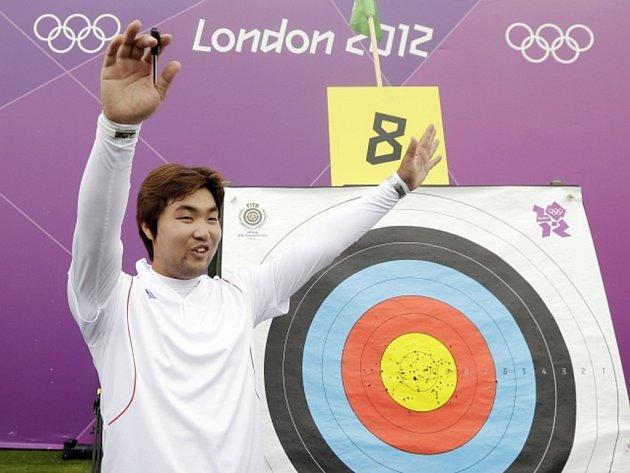 Lukostřelec Im Tong-hjon překonal na olympijských hrách v Londýně světový rekord.