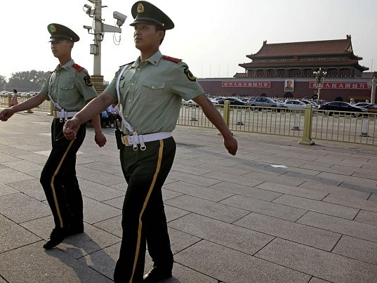 Pekingské náměstí Tchien-an-men