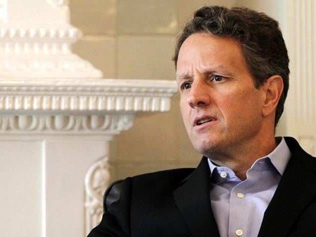Americký ministr financí Timothy Geithner.