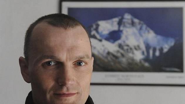 Policejní instruktor Marek Novotný ze Starého Jičína-Heřmanic na Novojičínsku