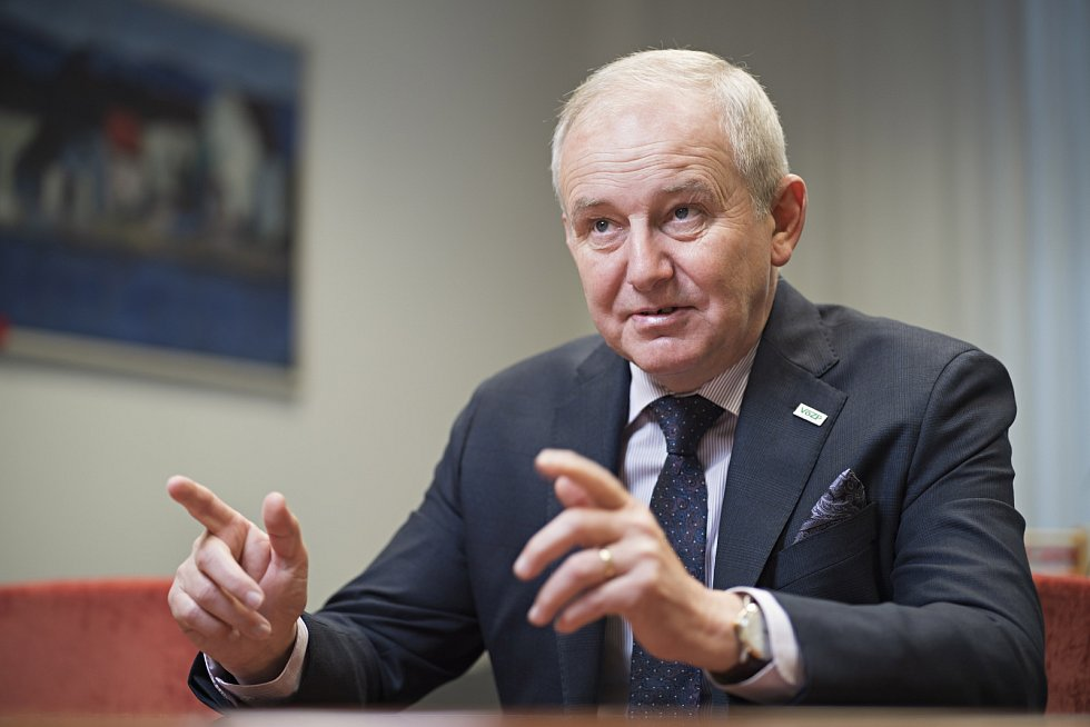 Generální ředitel Vojenské zdravotní pojišťovny Josef Diessl