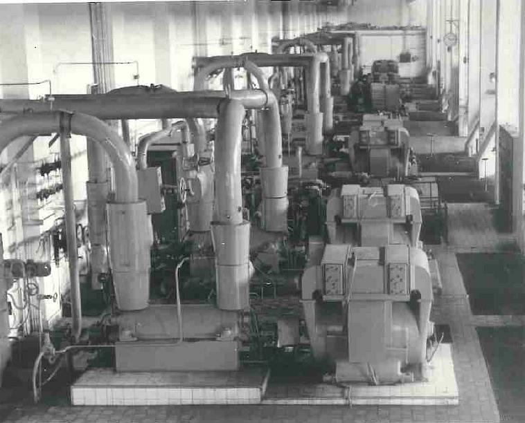 Elektrárna Poříčí II - napáječky