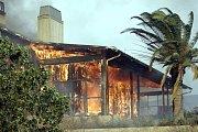 Rozsáhlé požáry v Kalifornii.