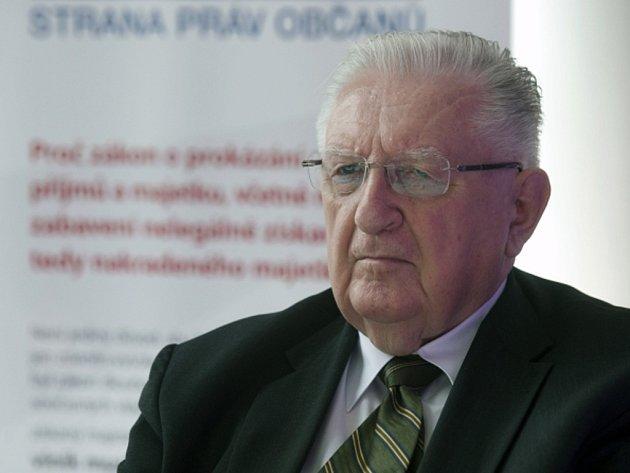 Bývalý šéf slušovického družstva František Čuba.