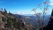 Gran Canaria. Výhled cestou na nejvyšší horu