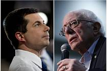 Pete Buttigieg, Bernie Sanders
