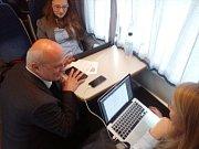 Michal Horáček v prezidentském vlaku