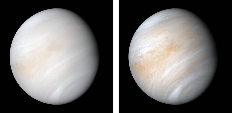 Nově zpracované pohledy na Venuši z kosmické sondy od Mariner 10