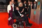 Stephen Hawking se slavnostního udílení cen osobně zúčastnil a dokonce vyhlašoval cenu za nejlepší vizuální efekty, kterou získal film Interstellar.