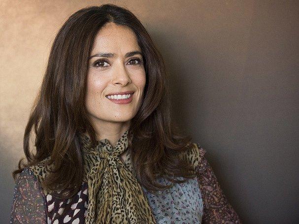 Herečka Salma Hayek.