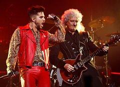 Koncert kapely Queen + Adam Lambert v O2 Areně 1.11.2017.