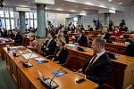 Z ustavujícího zasedání krajského zastupitelstva Středočeského kraje v pátek 18. listopadu 2016 v Praze.