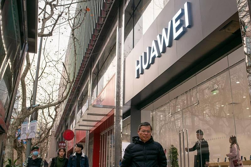 Čínská společnost Huawei.