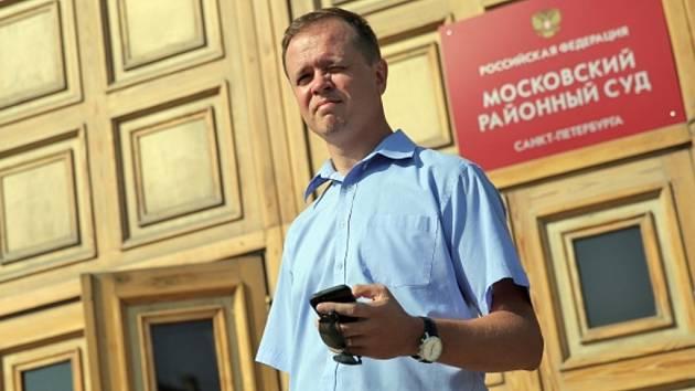 Přední obhájce ruských opozičních aktivistů Ivan Pavlov.