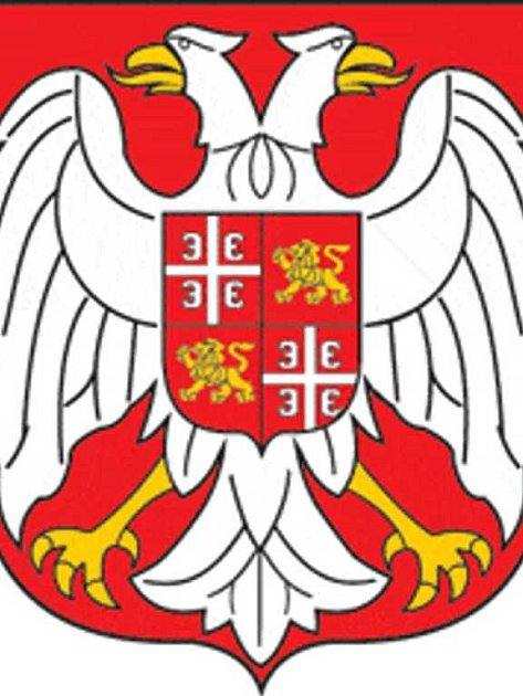 Srbský státní znak.