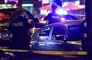 Policie vyšetřuje střelbu v Torontu.