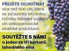 Soutěžte s námi o víno