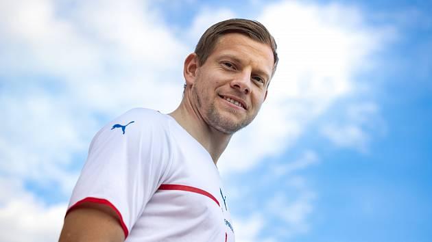 Matěj Vydra v novém reprezentačním dresu