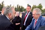 Prezident Miloš Zeman na návštěve Izraele.