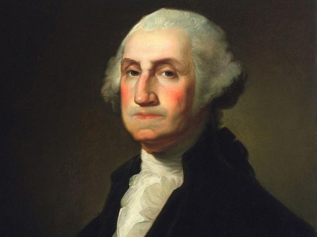 George Washington, první prezident USA