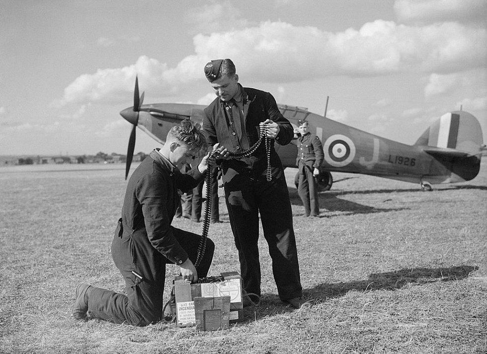 Hawker Hurricane Mk.I se kterým Alois Vašátko sestřelil v roce 1940 německý Ju 88