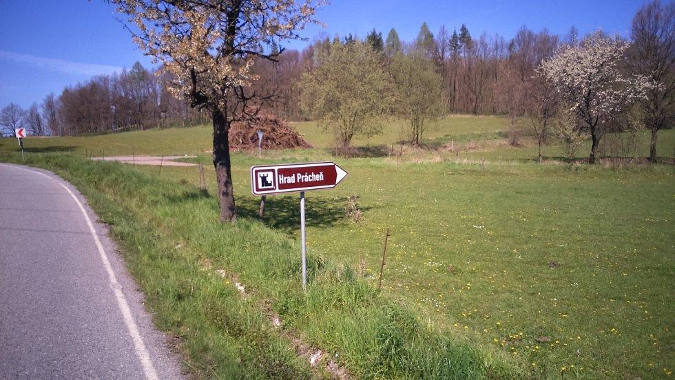 Na cestě k hradu Prácheň