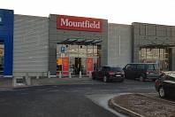Modernizová prodejna Mountfield v Mostě.